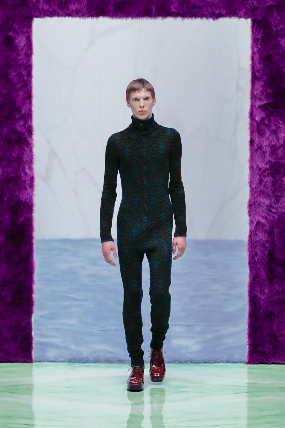 Défilé Prada 2021-2022 - Fashion Week homme de Milan