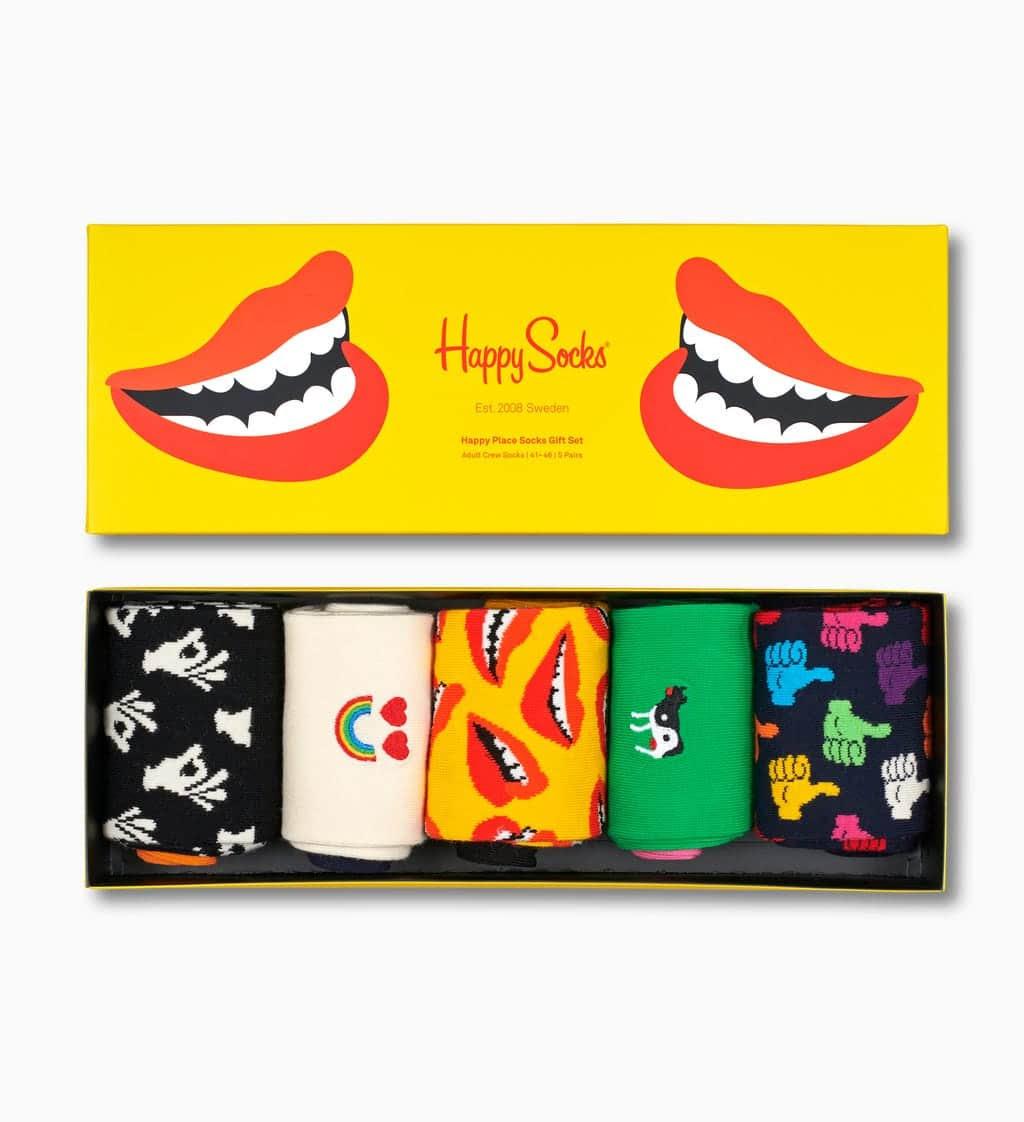 Pack de 5 paires de chaussettes Happy Socks