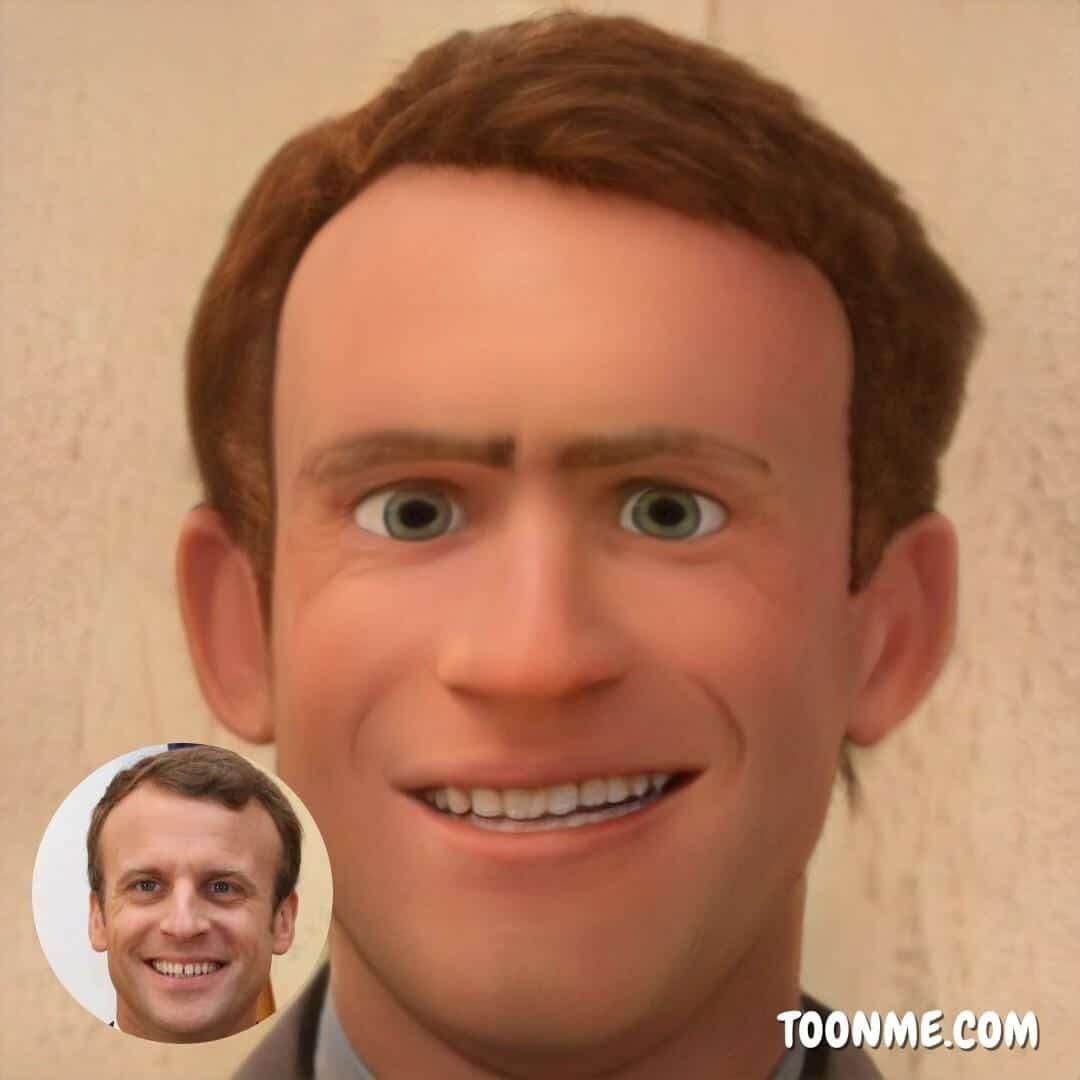 Emmanuel Macron - ToonMe
