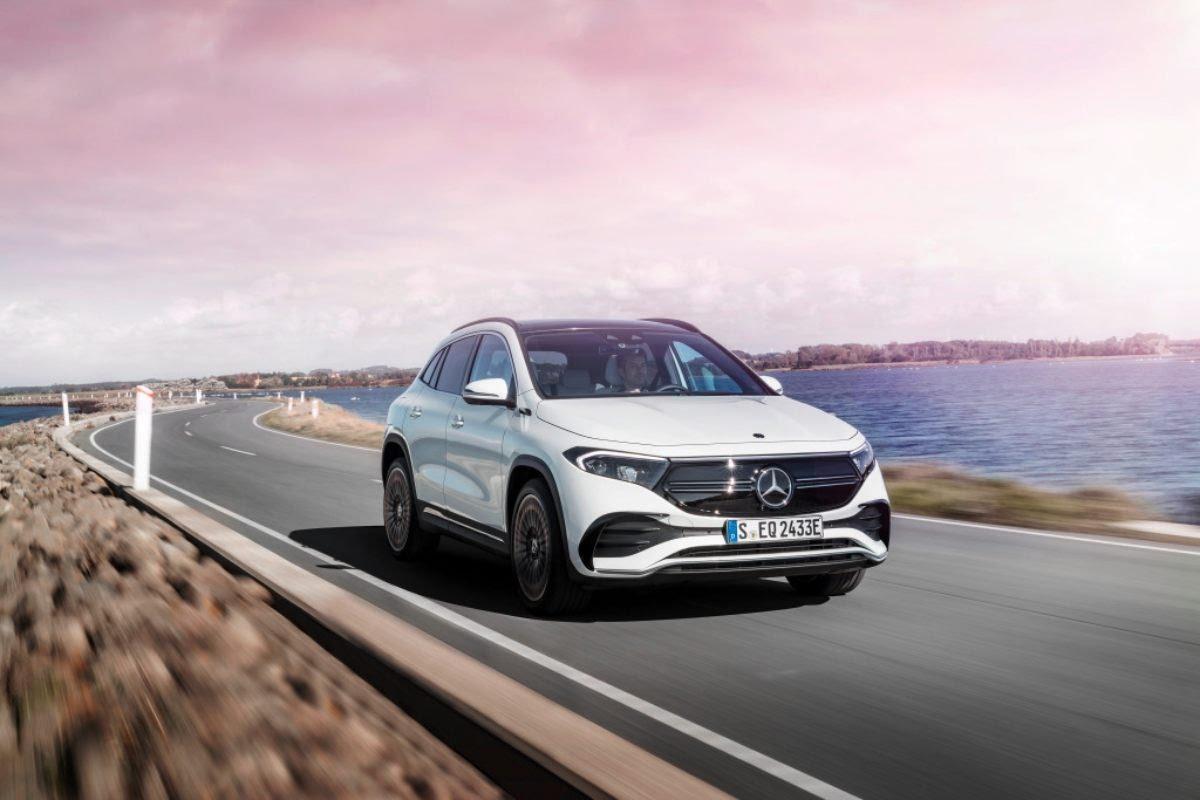 Nouveau Mercedes EQA
