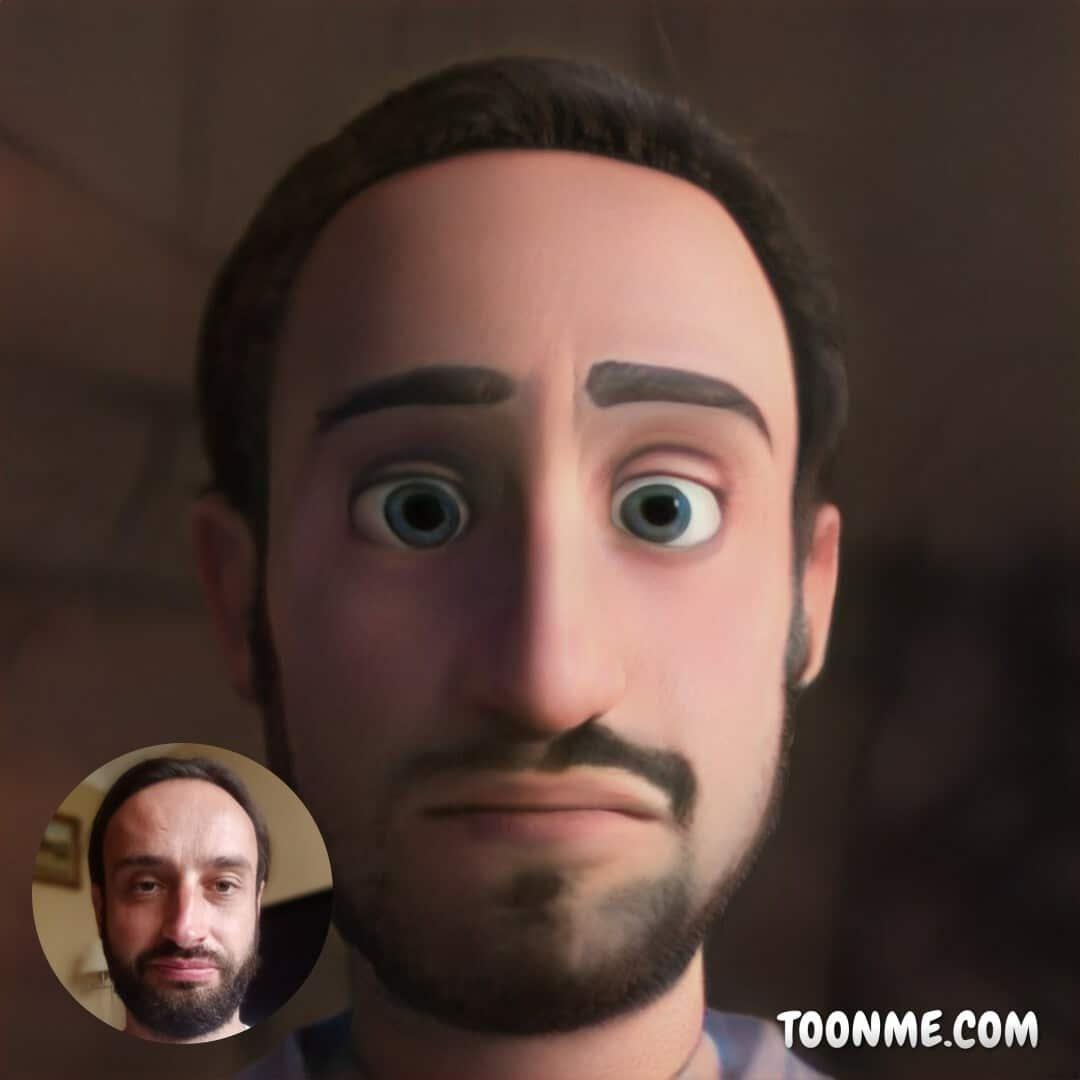 Selfie avec ToonMe