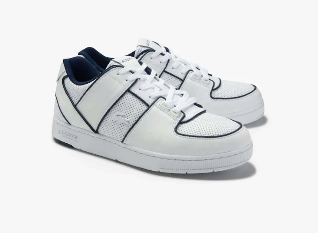 Soldes Lacoste - baskets blanches
