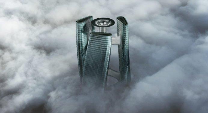 Squall Tower, le gratte-ciel qui tourne avec le vent