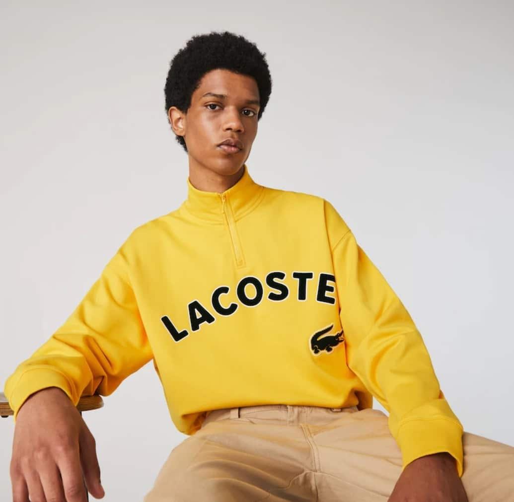 Soldes Lacoste - Sweatshirt Lacoste Live
