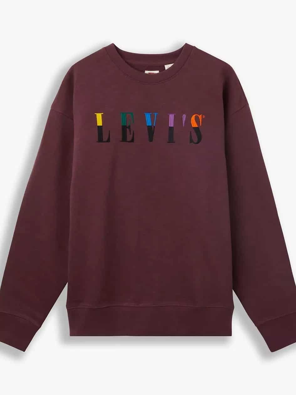 Soldes Levi's -Sweat-shirt Relaxed Serif Graphic Crew