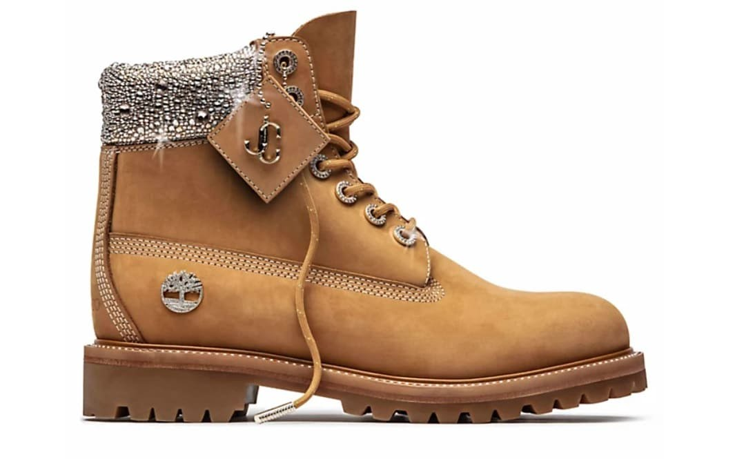 Yellow Boots Timberland x Jimmy Choo