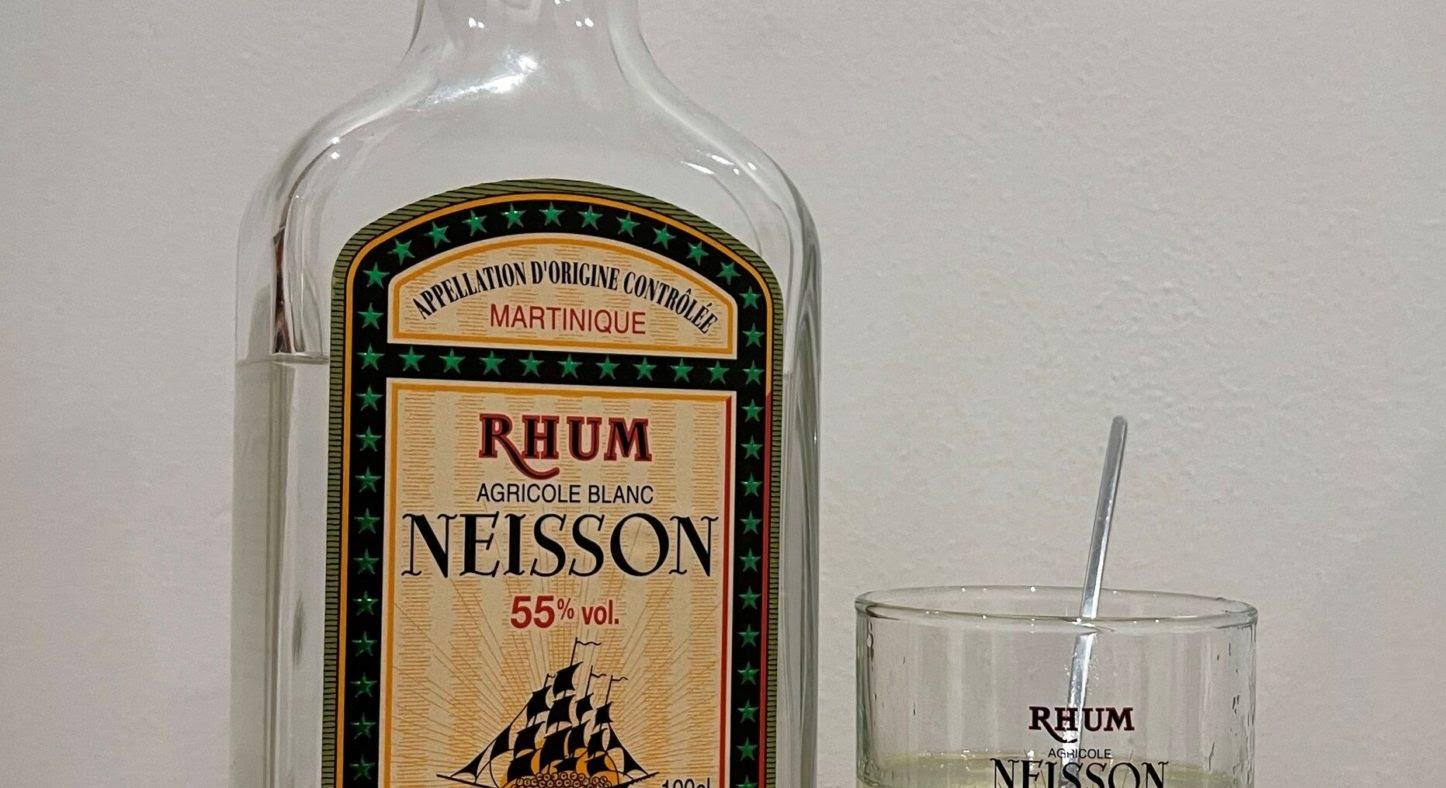 Dégustation : Rhum Neisson 55° blanc