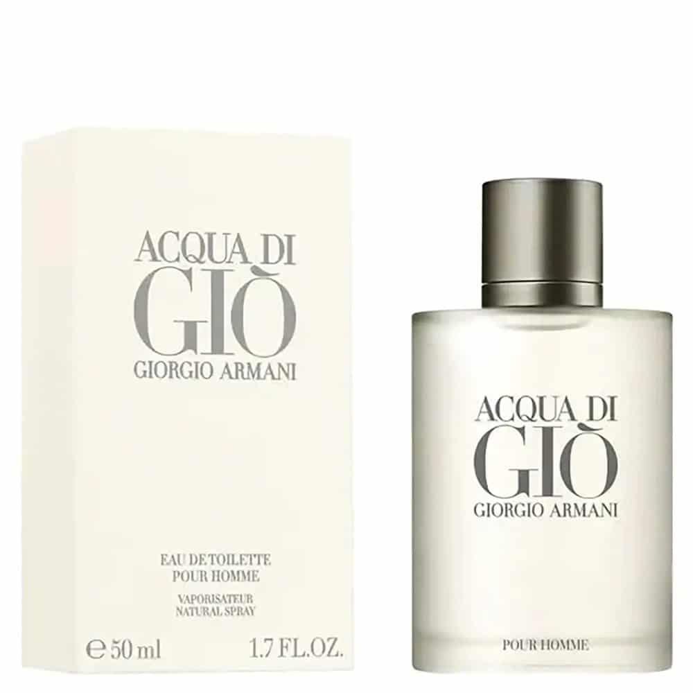 Parfums pour homme à éviter - Acqua di Gio Giorgio Armani