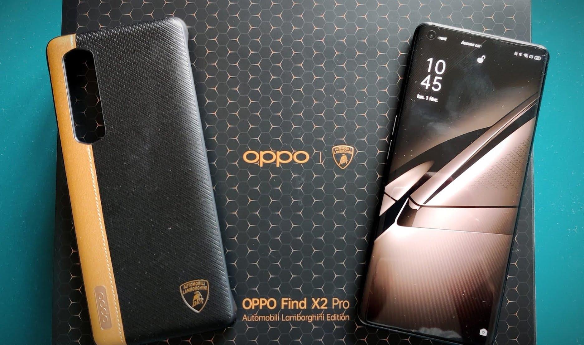 Avis sur l'Oppo Find X2 Pro Lamborghini