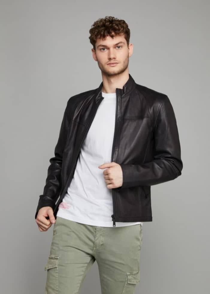 Basiques mode homme - Blouson cuir Redskins