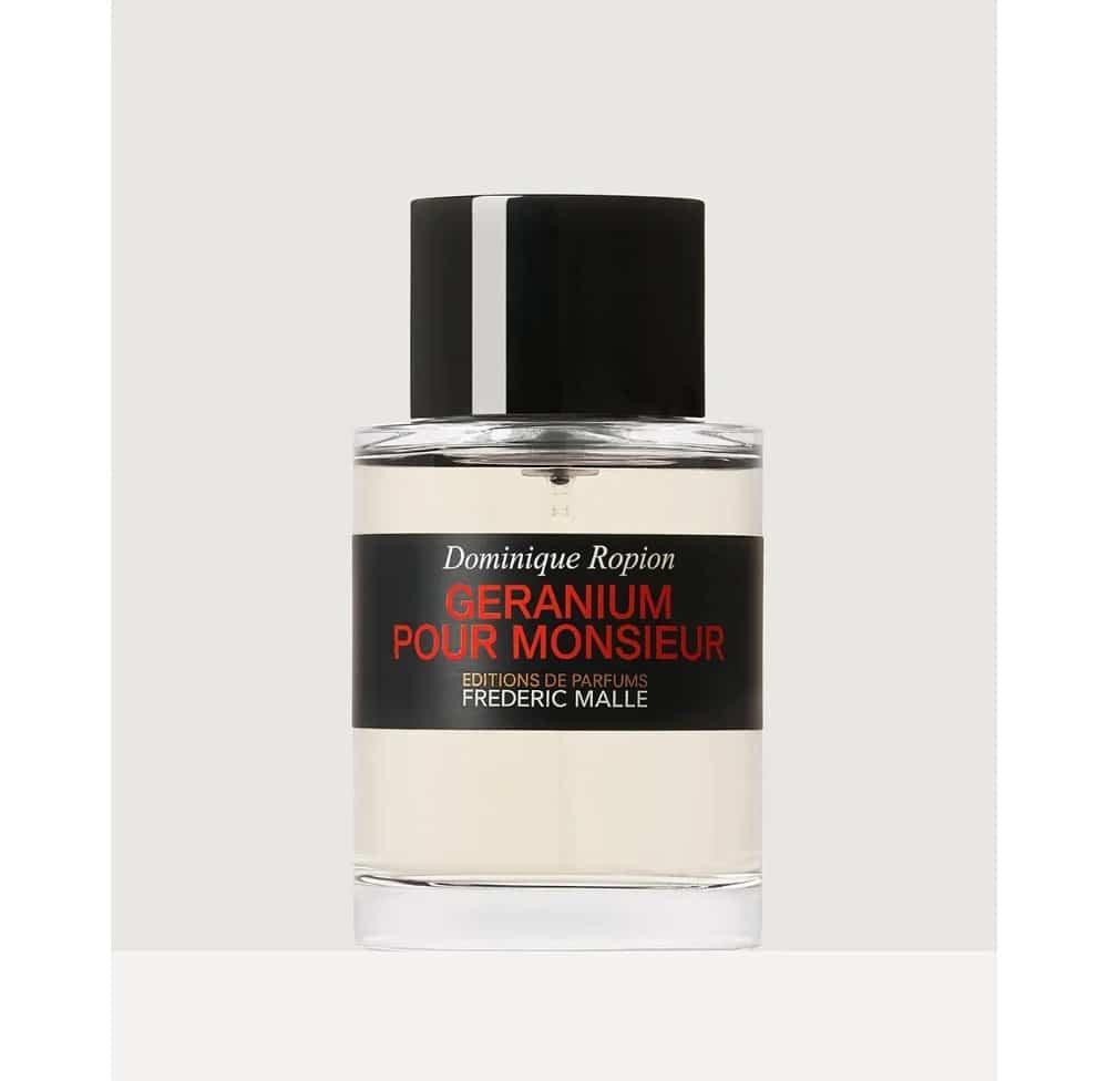 Meilleurs parfums homme à connaître - Géranium pour Monsieur Frederic Malle