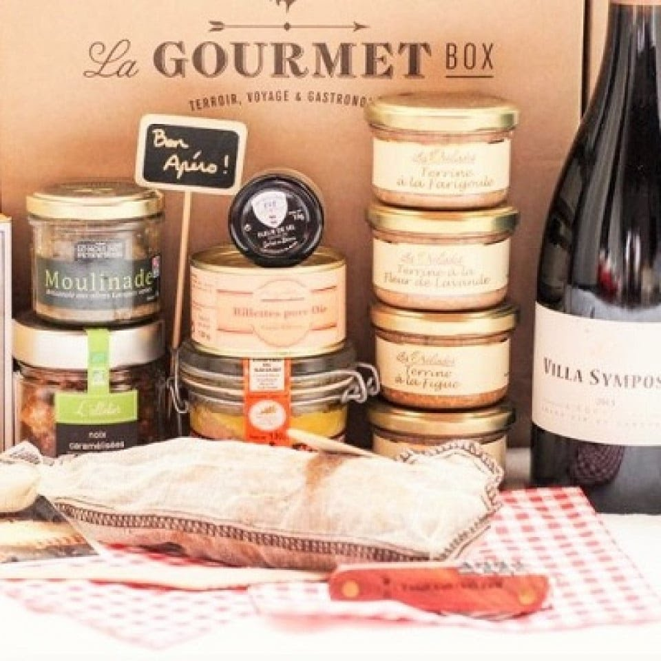 Le meilleur de la box mensuelle par bonnement - Gourmet Box