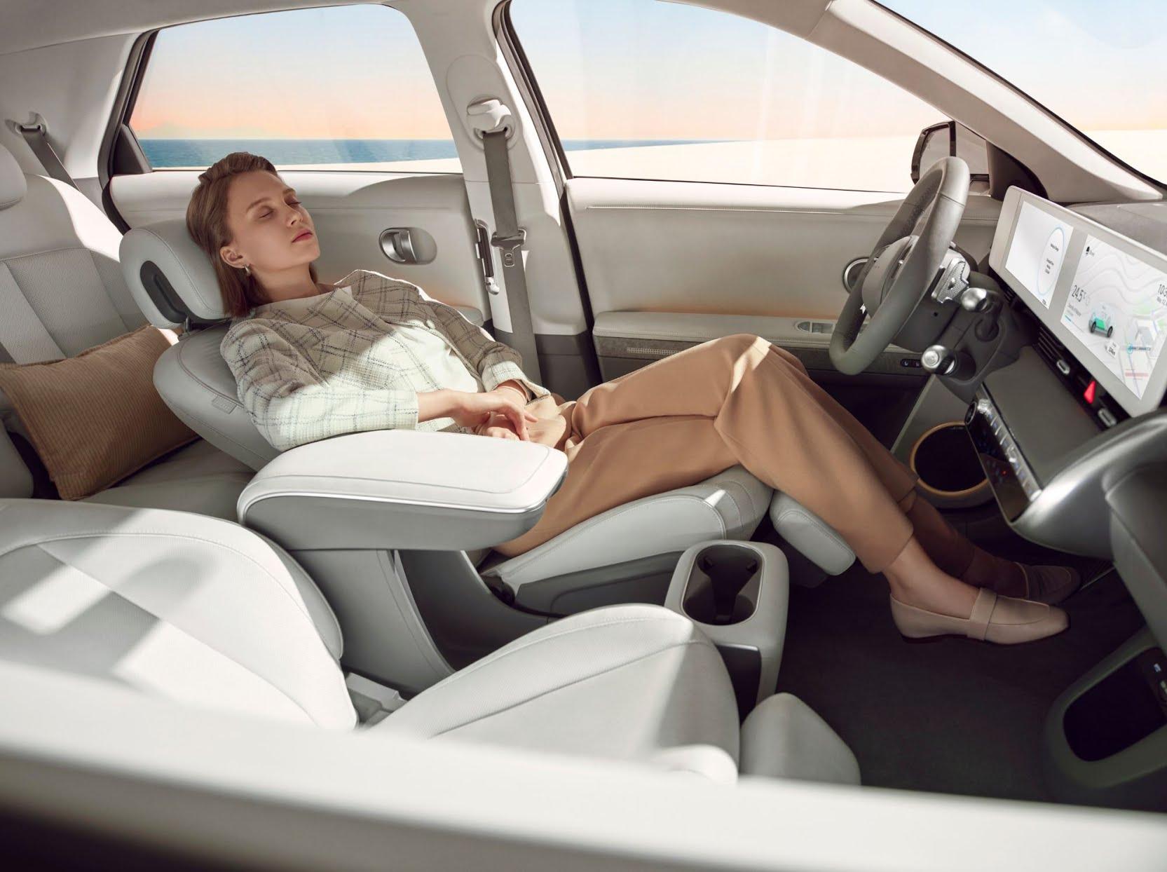 Hyundai Ioniq 5 - Sièges inclinables à 90°