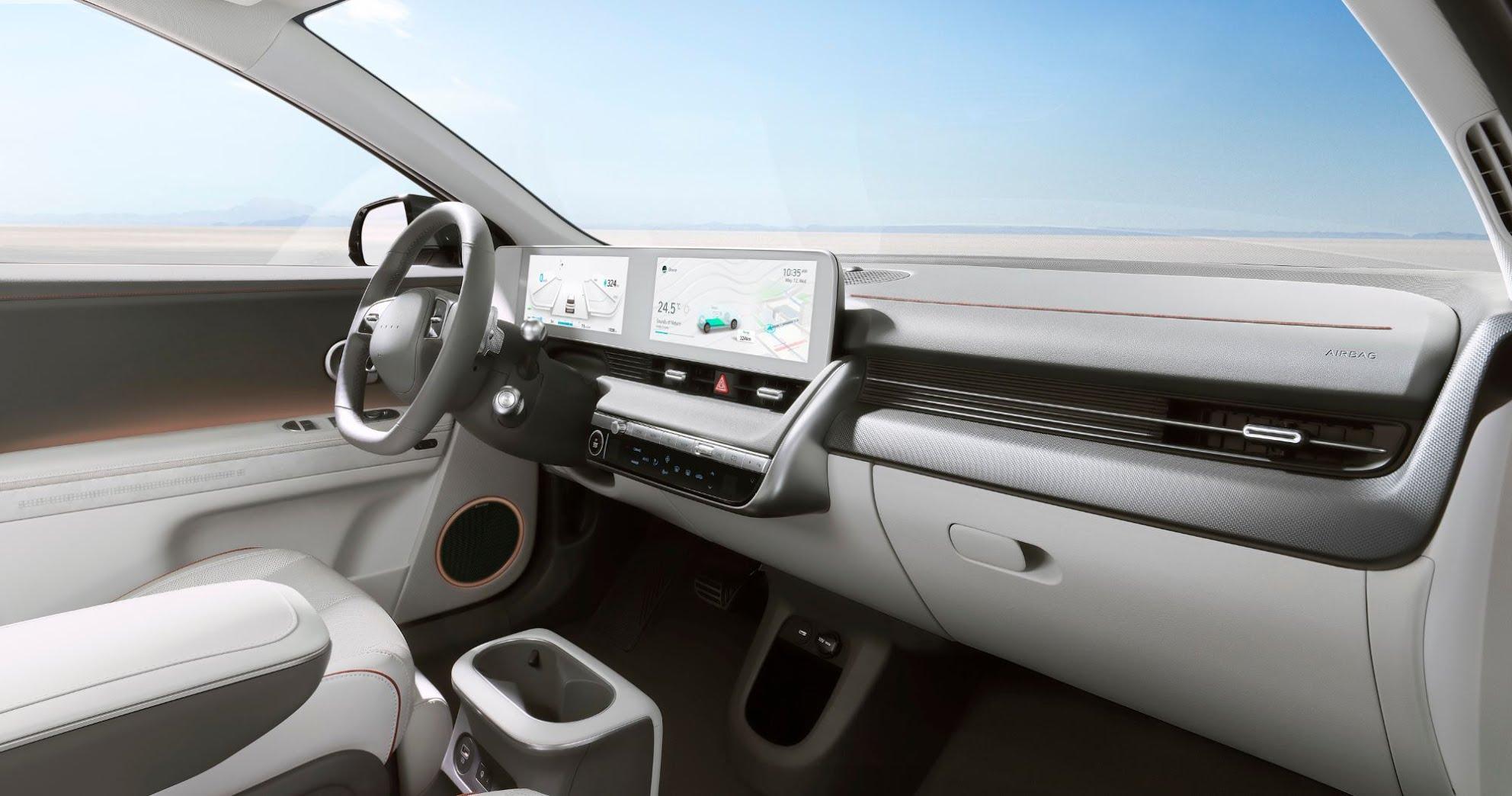 Hyundai Ioniq 5 - habitacle