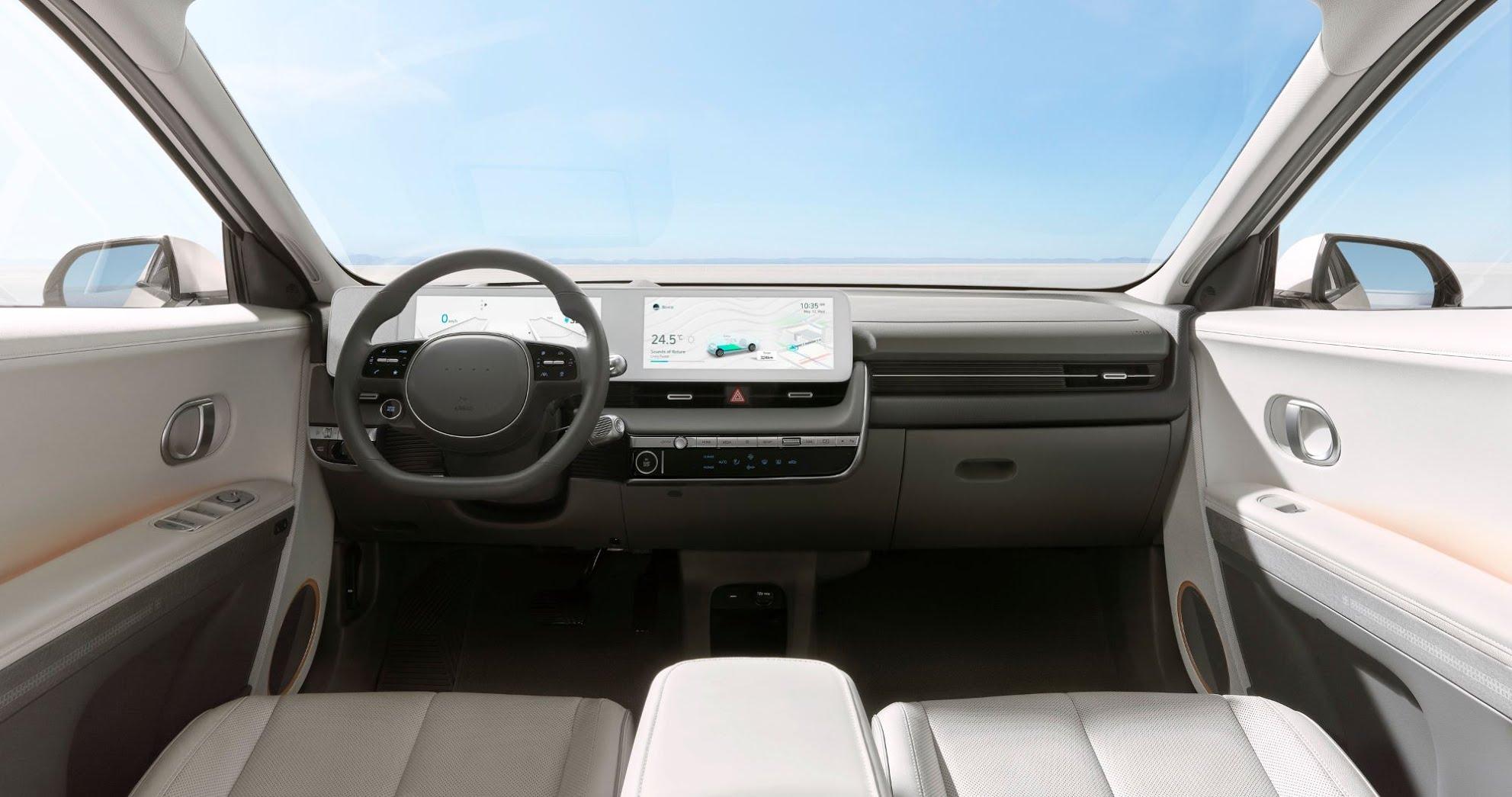 Hyundai Ioniq 5 - planche de bord