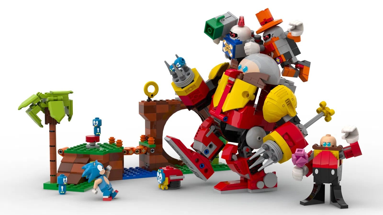 Projet Lego Sonic sur Lego Ideas
