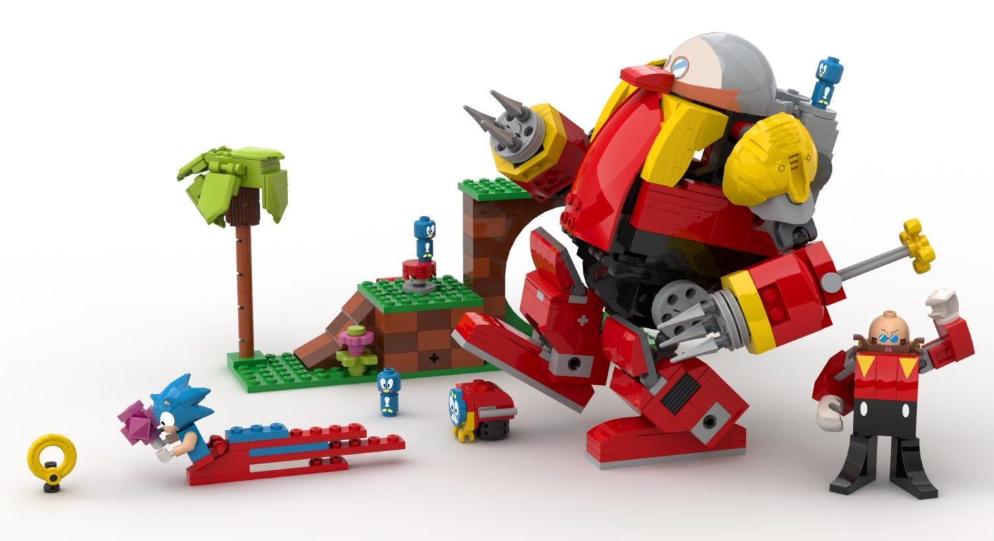 Les Lego Sonic débarquent en 2021 !