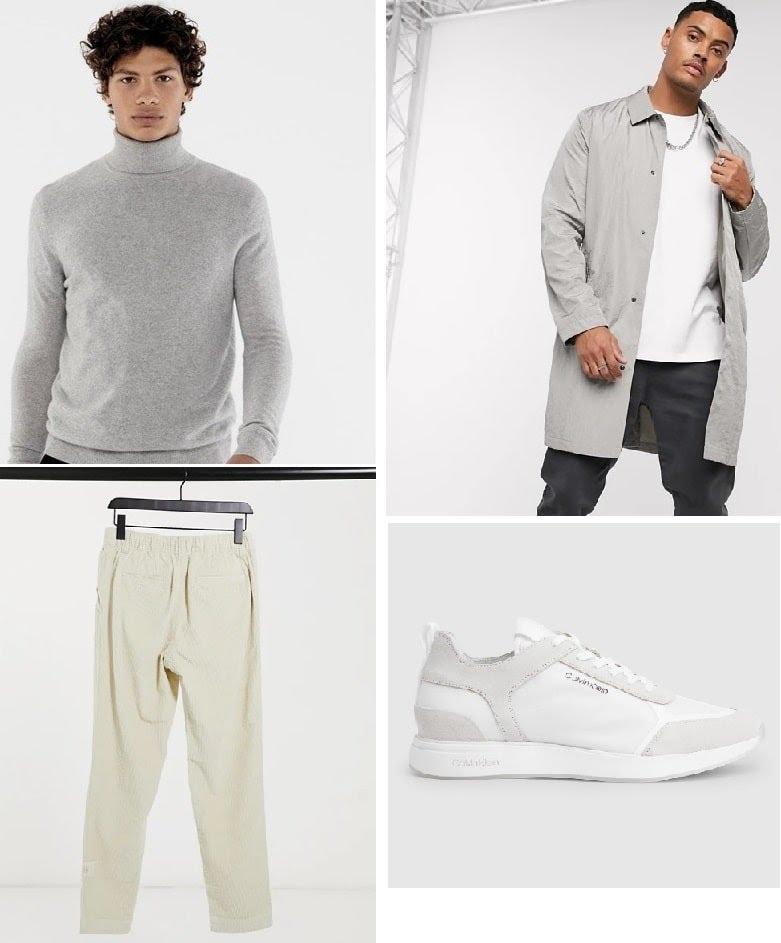 Look urbanwear velours
