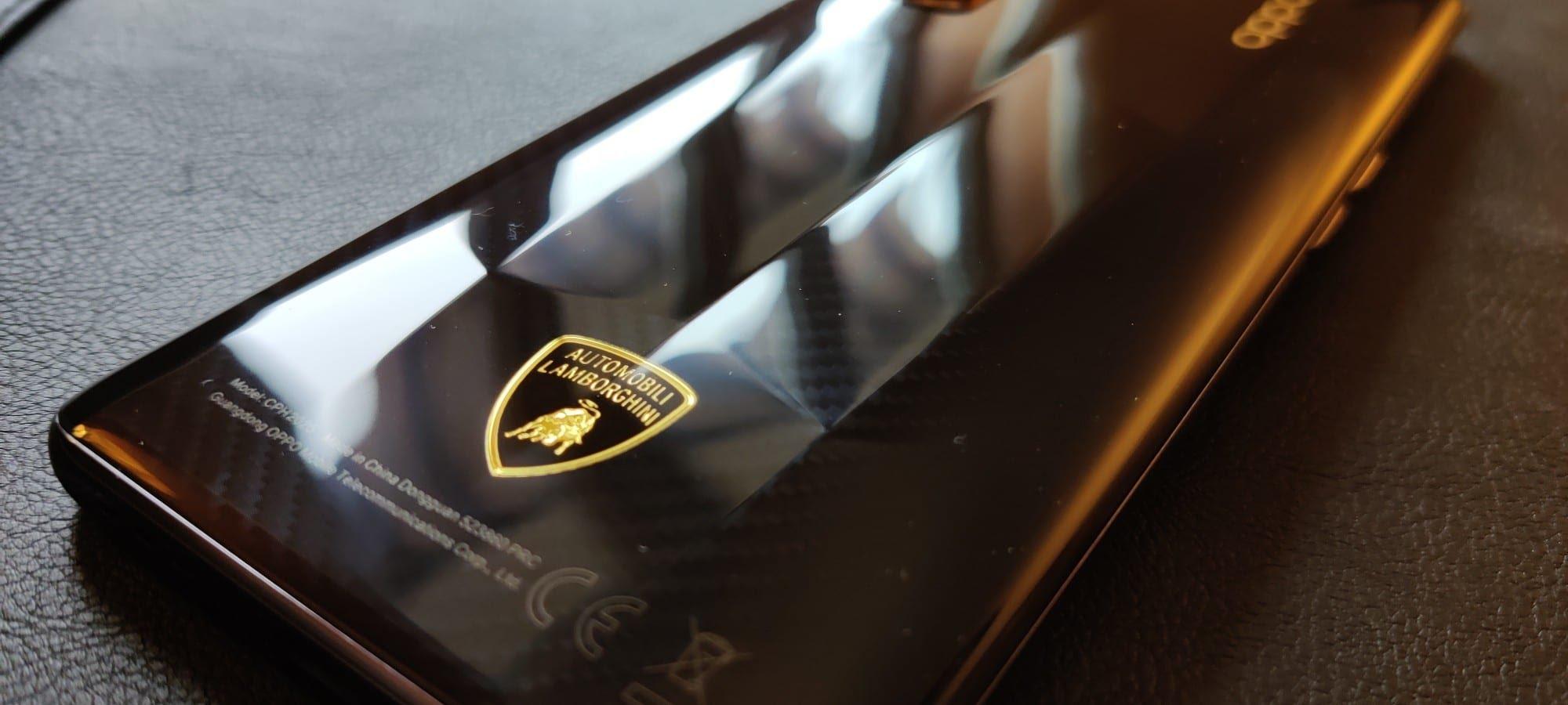 Face carbone Oppo Find X2 Pro Lamborghini