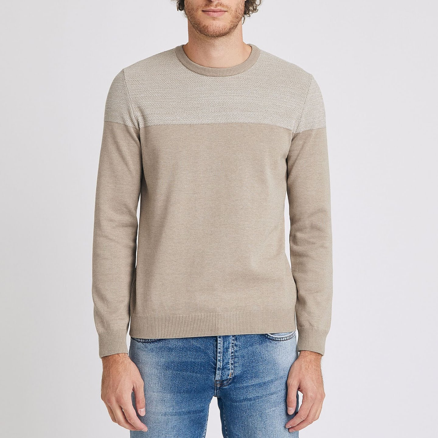 Soldes Jules - pull col rond