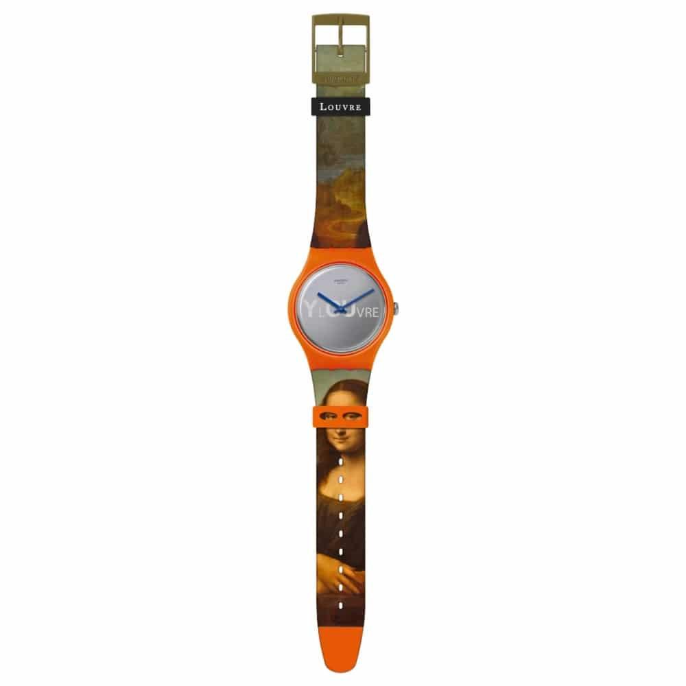 Montre Swatch x Le Louvre Mona Lisa