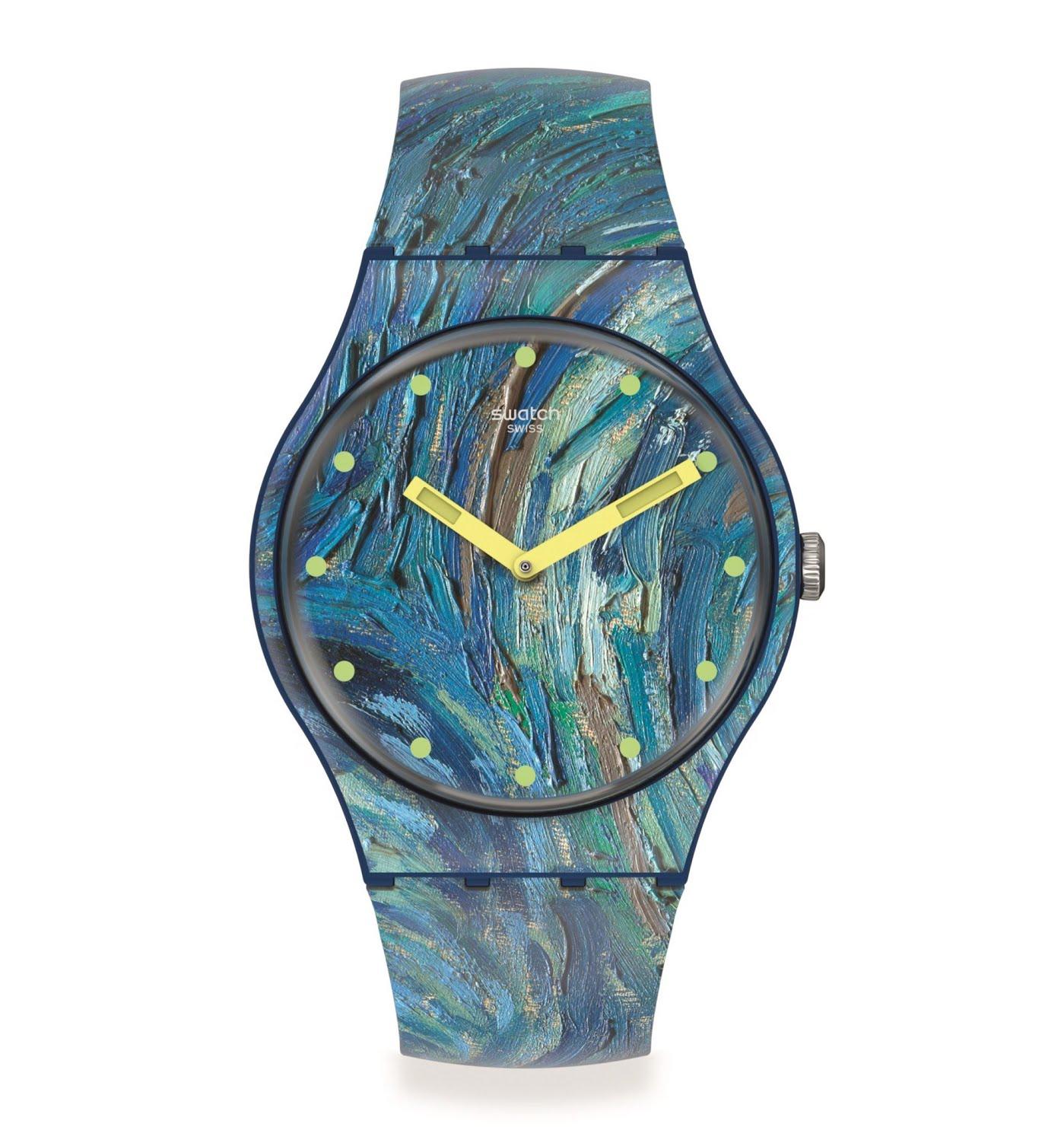 Swatch x MoMA - Nuit étoilée Van Gogh