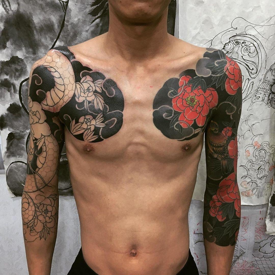Tendances tatouage 2021 : Le style Yakuza
