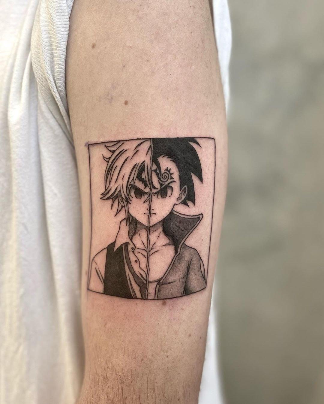 Tendances tatouages 2021 : Le tatouage en hommage au manga