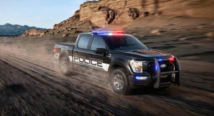 "Ford F-150 Police Responder : un pick-up ""haute poursuite"" !"