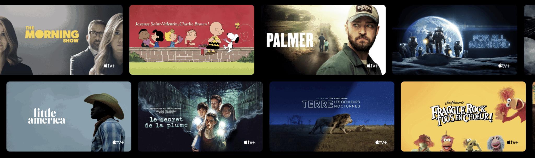 Apple TV+ les séries à ne pas manquer