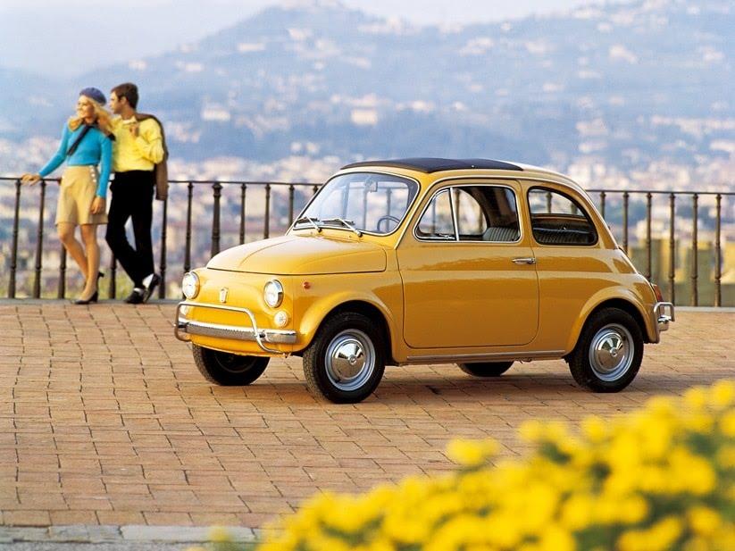 Plus belles voitures de tous les temps - Fiat 500