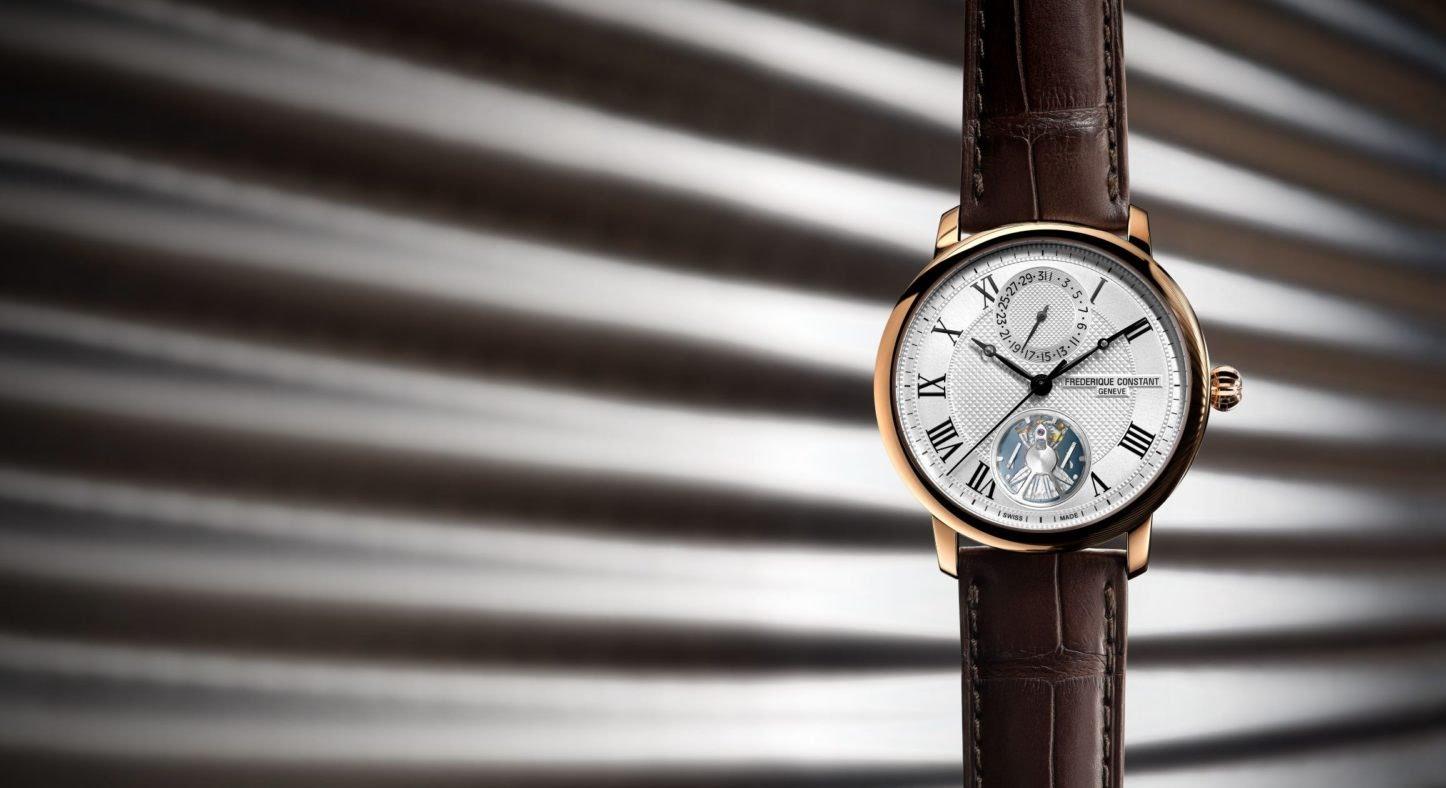 Slimline Monolithic Manufacture Frederique Constant : cette montre est une révolution