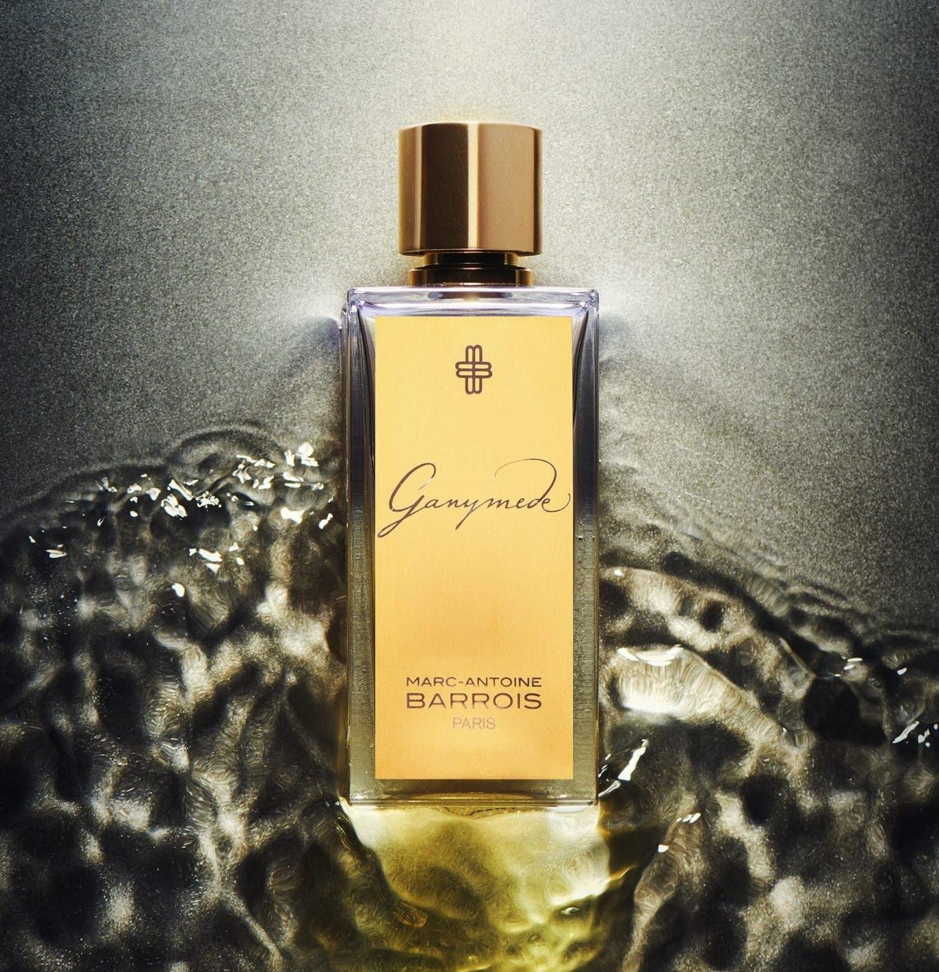 Parfums de niche pour homme - Ganymède de Marc-Antoine Barrois