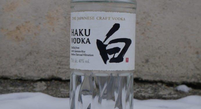 Dégustation : Vodka HAKU de Suntory