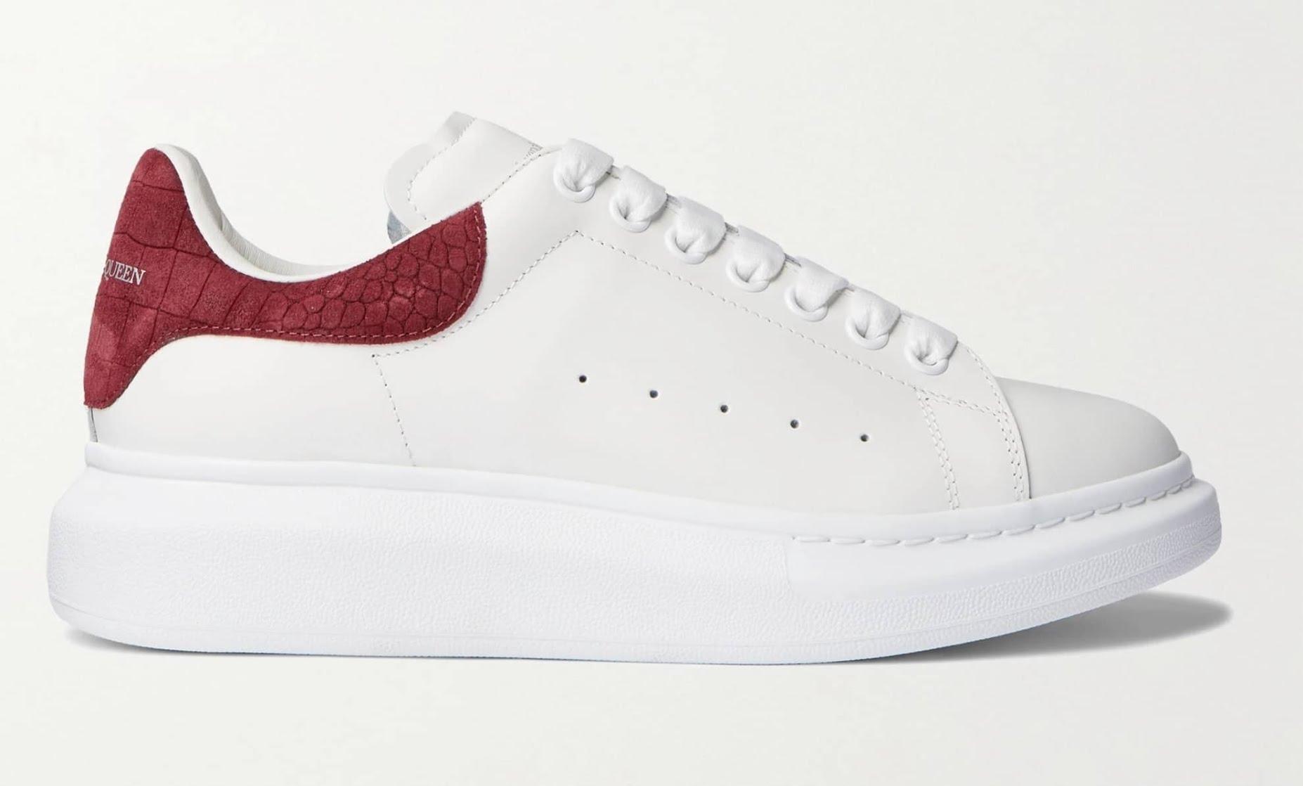 Sneakers de luxe - Baskets blanches Alexander McQueen