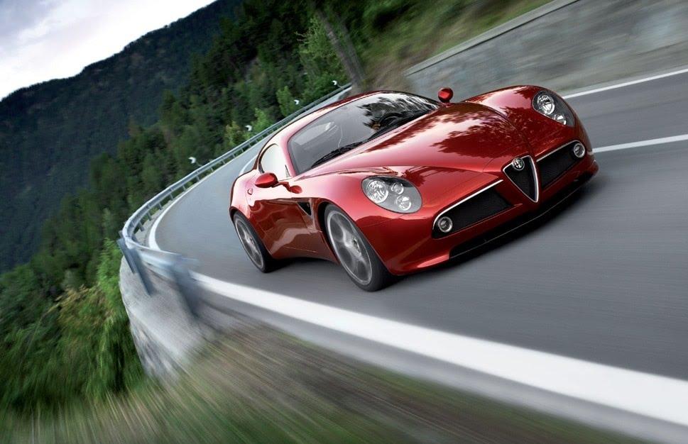 Plus belles voitures du monde - Alfa Romeo 8C Competizione