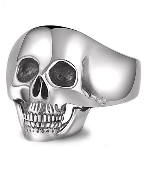 Boutique Tête de Mort : Bague Crane Malicieux
