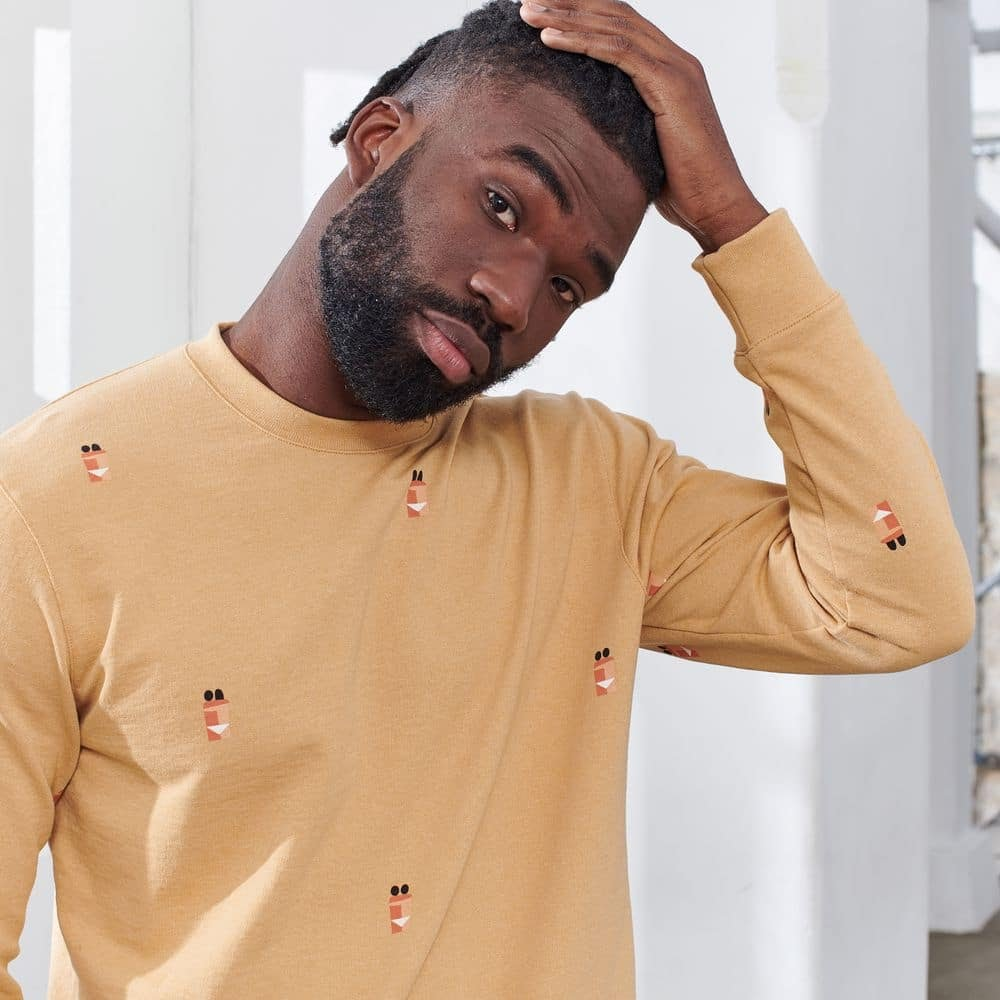 Sweat-shirt mixte Le Slip Français