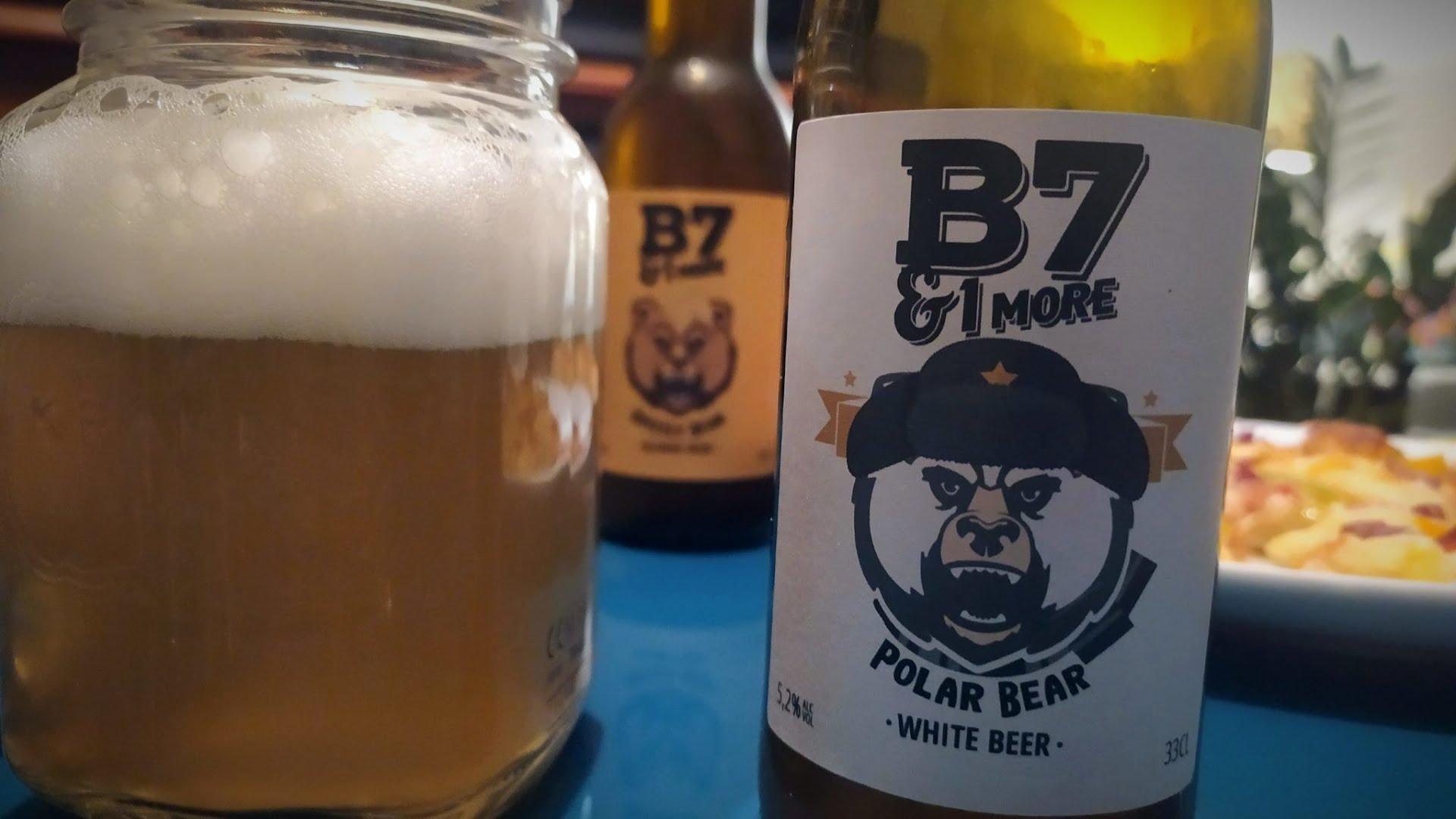 Dégustation de la bière B7&1 MORE