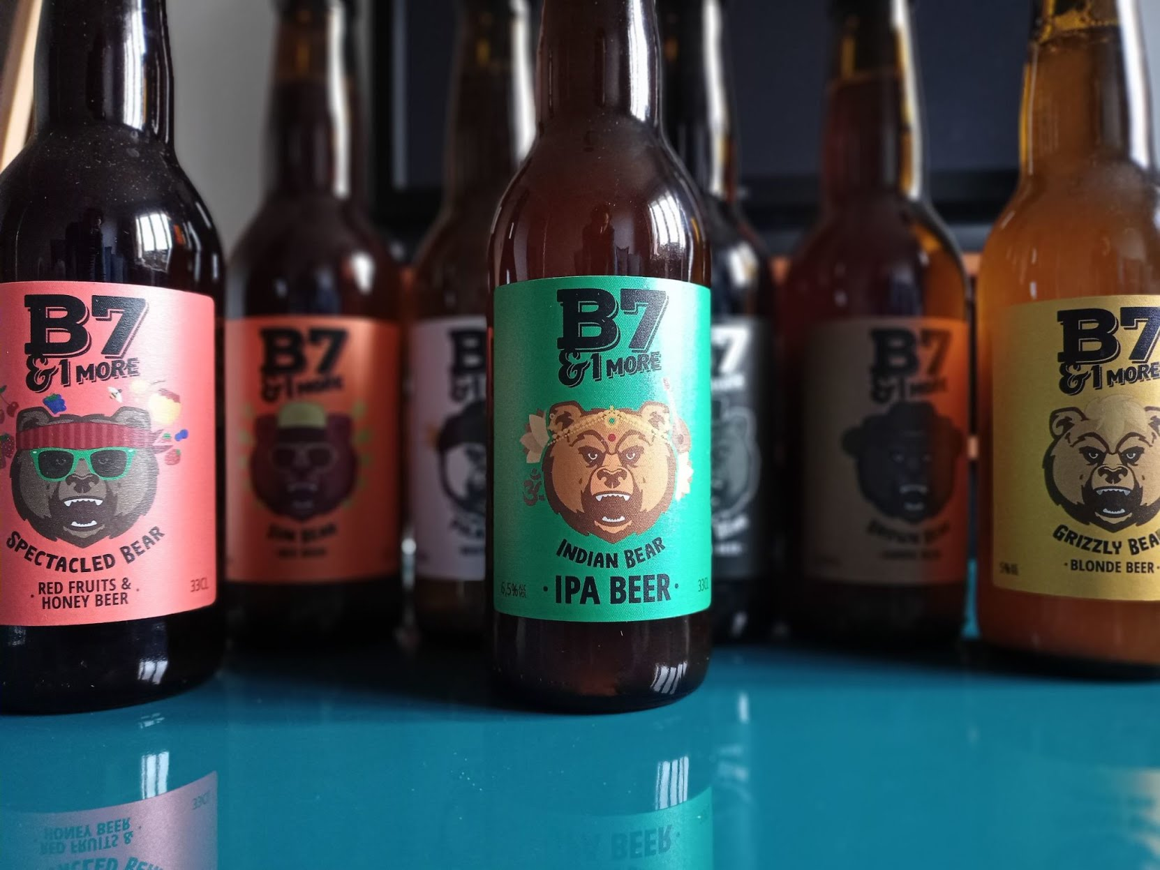Bières B7&1 MORE