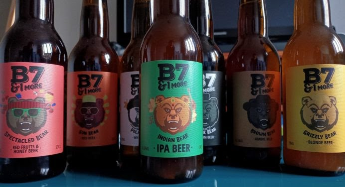 On a goûté : B7&1MORE, la bière française qui aime les ours