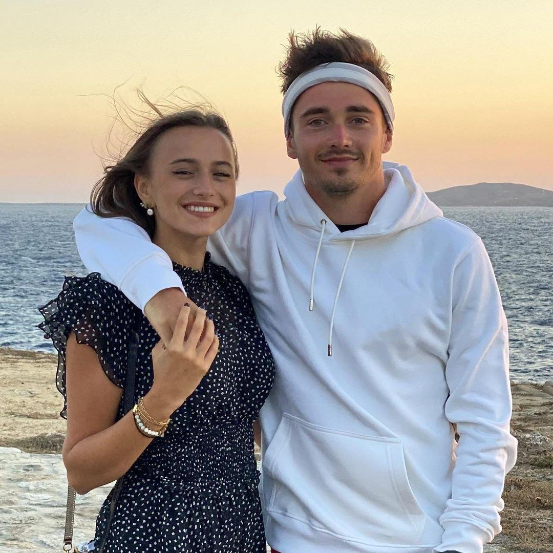 WAGs 2021 - Charlotte Sine et Charles Leclerc