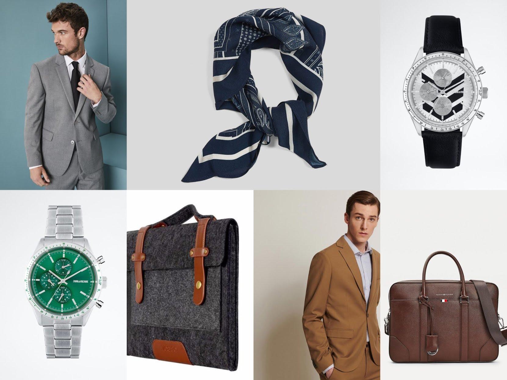 Entretien d'embauche, quelle tenue choisir ? Une veste de costume et des accessoires bien choisis