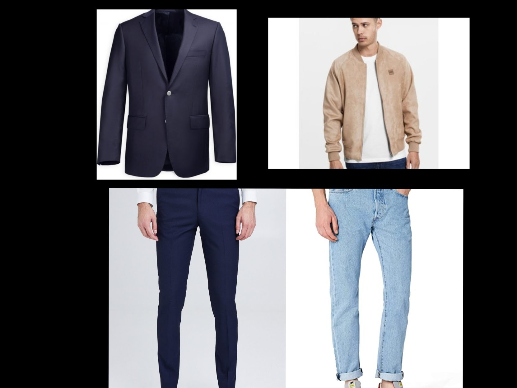 Entretien d'embauche, quelle tenue choisir ? Une veste et un pantalon assortis pour un air décontracté et pro