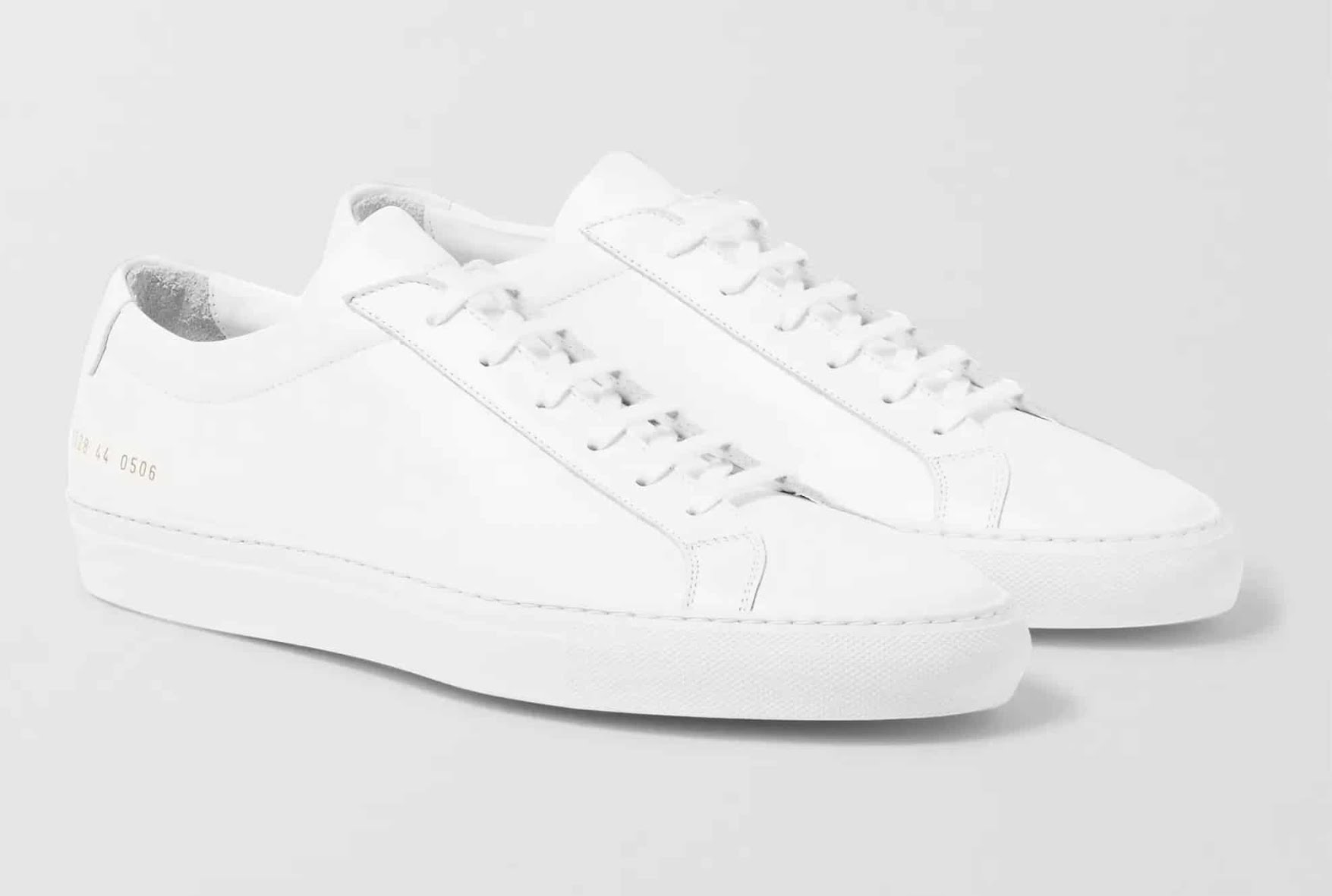 Sneakers de luxe - Baskets blanches Achille Common Projects