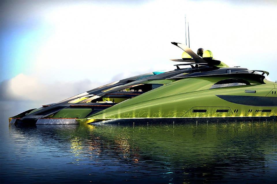 Crescere Yacht Concept par Designova Creative