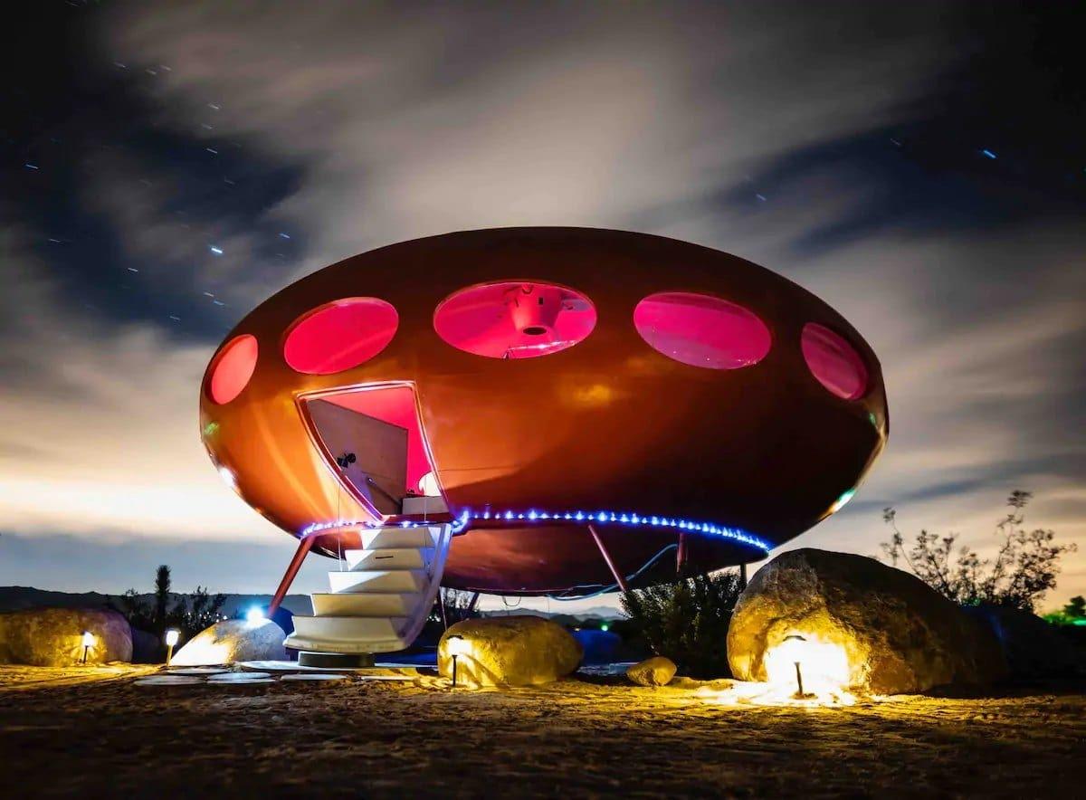 Futuro House, maison en forme d'ovni