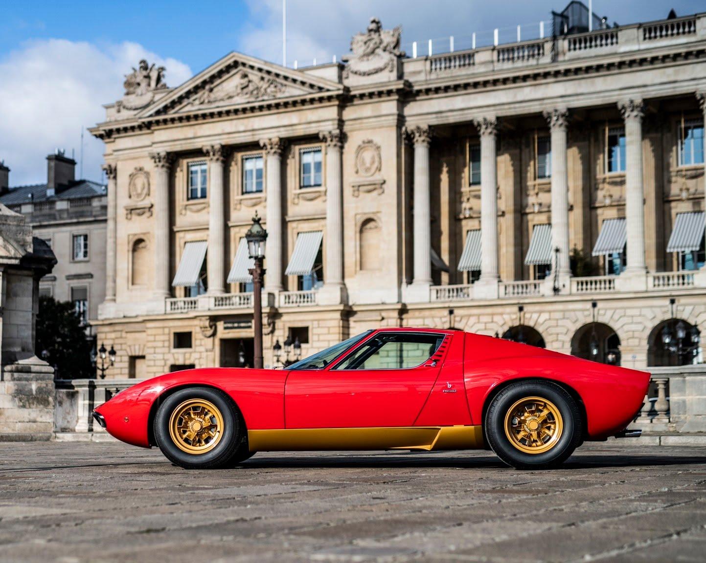 Plus belles voitures de l'Histoire - Lamborghini Miura