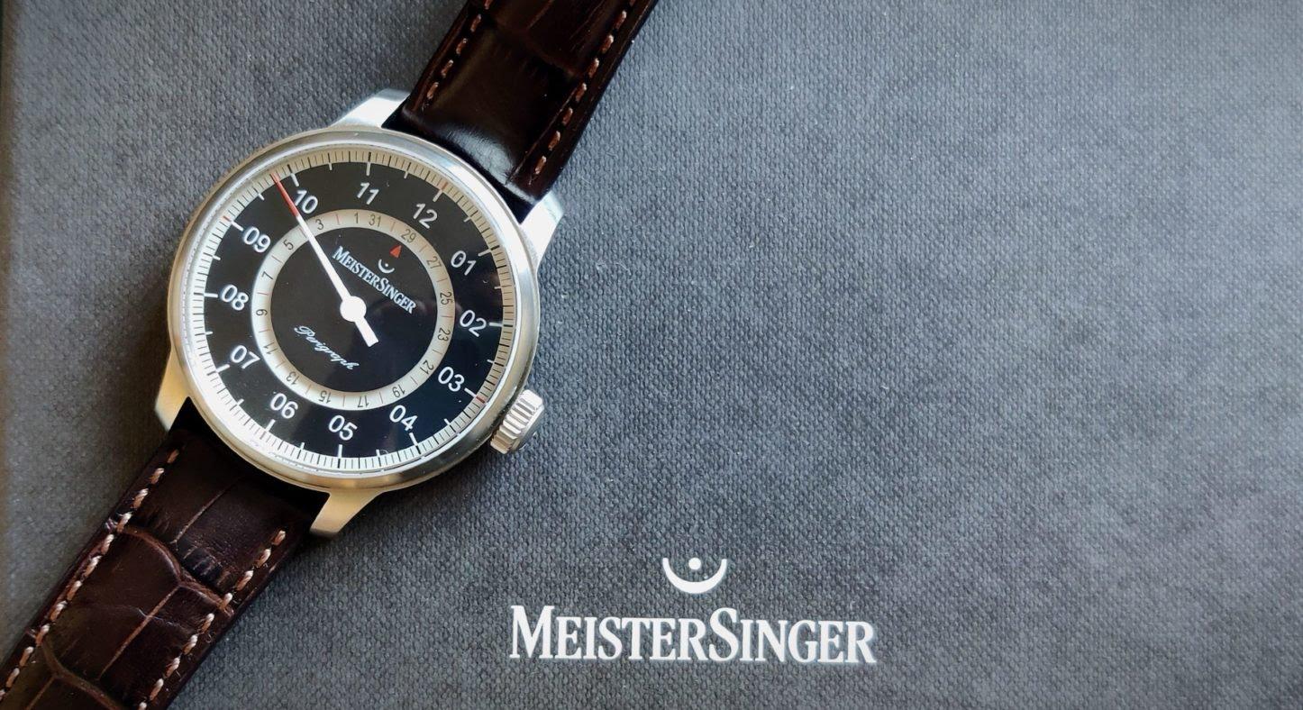 MeisterSinger Perigraph : elle fait tourner les têtes (et la date)