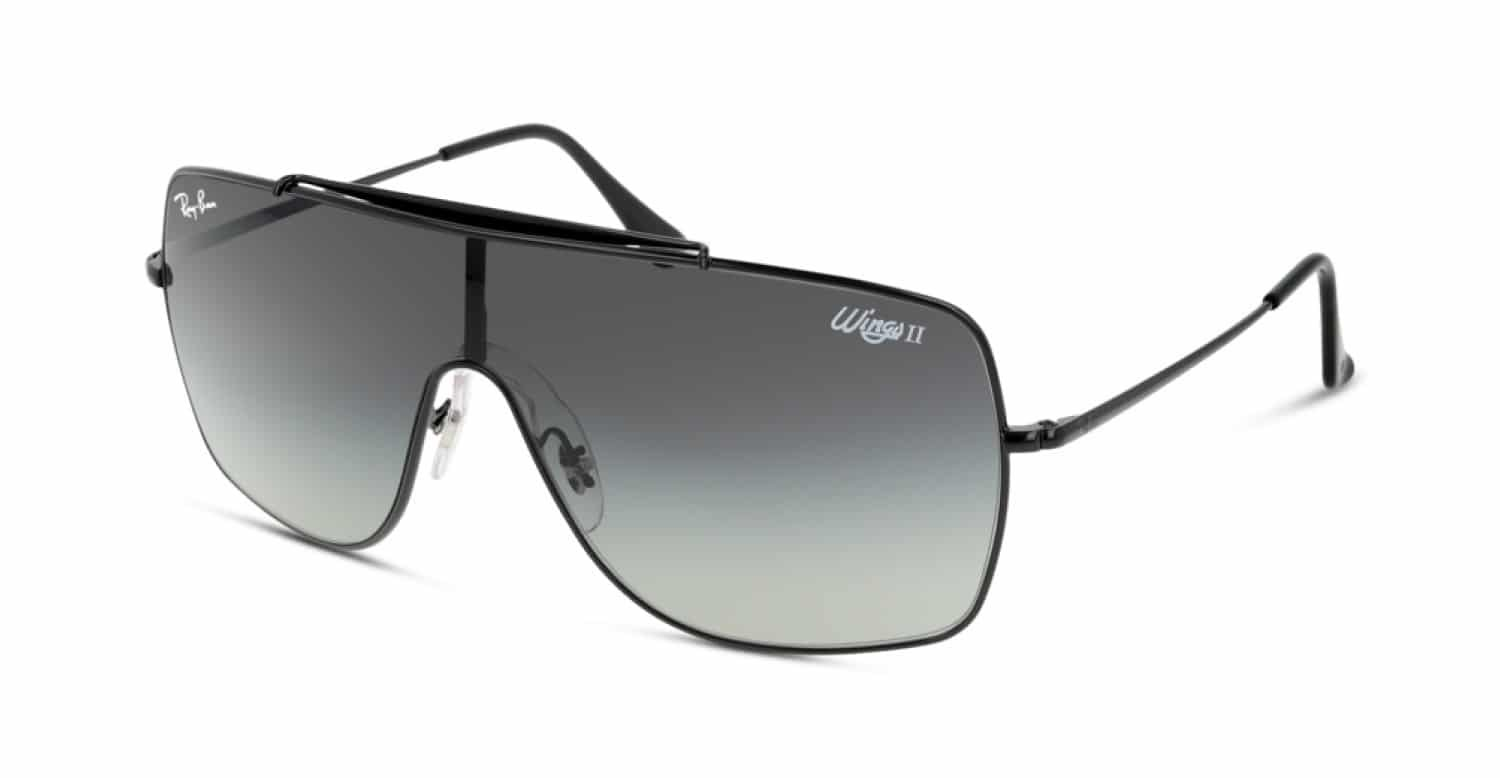 Lunettes de soleil homme 2021 - Ray-Ban RB3697 WINGS II